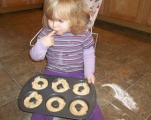 Doughnuts in the Pan