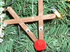 Rudolf Christmas Tree Ornament