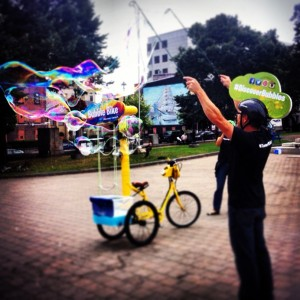 Bubbles and the Bubble BIke