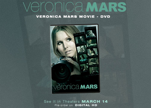 Veronic Mars DVD