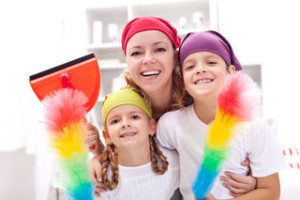 Green-cleaning-with-kids