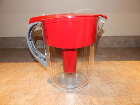 Brita Grand Water Filter Pitcher Red 10 Cup Penny Minding Mom