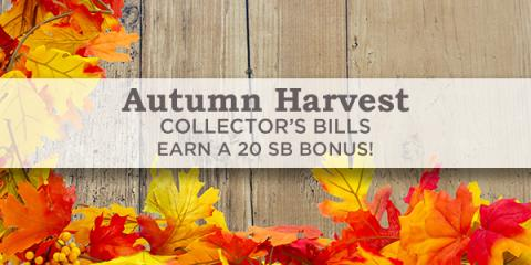 Swagbucks Autumn Harvest