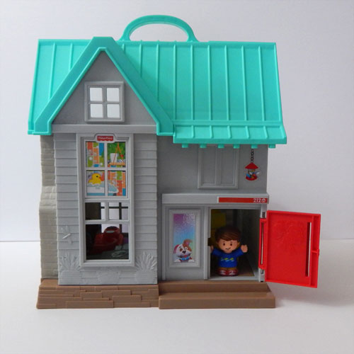 Little People House Front Door