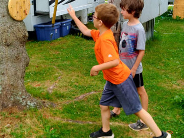 Pellor Ring Toss Game Playing