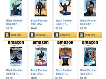 Black Panther eBooks