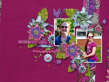 Mommy's Girl Freebie by Digital Scrapbooking Studio