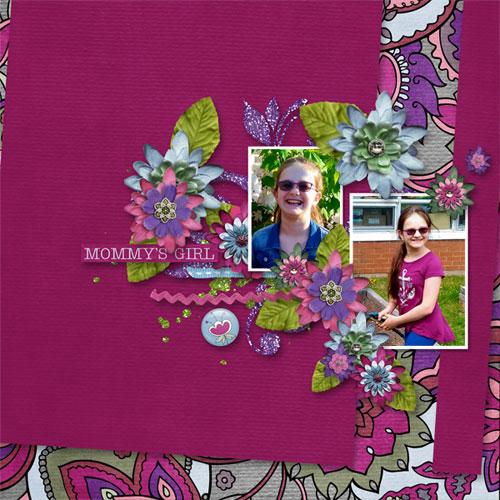 Quickpage Freebie Mommy's Girl  by Digital Scrapbooking Studio