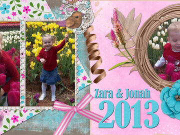 Bird Nest Layout by Le Scrap de Yas