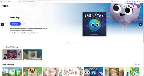 Vooks Homepage