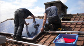 Solar Panel Installation, Image Credit MariaGodfrida, Pixabay